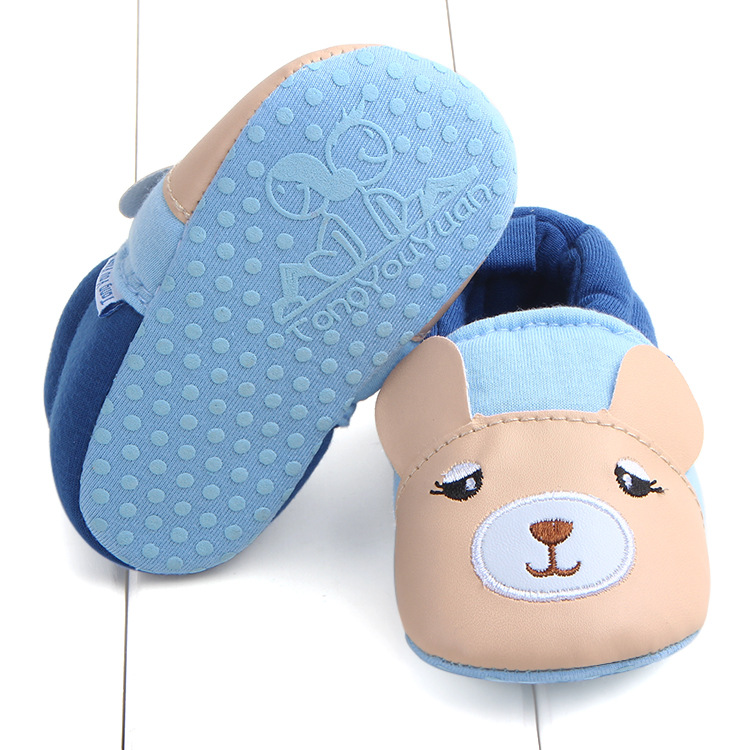 First Walkers Baby Shoes Cotton Anti-slip Booties Baby Girl Boy Shoes Animal Cartoon Newborn Slippers Footwear Booties Kids Gifts (22)