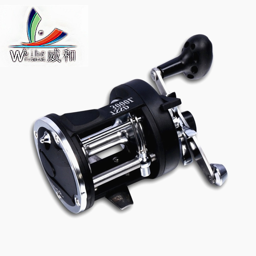 1Pcs Advanced Metal Head Sea Fishing Wheel Drum Fish Wheel With The Discharge Of Fish Line Wheel For Fishing lfs am analog metal height controller sensor 1pcs head 1pcs amplifiers 1pcs cable 10meter