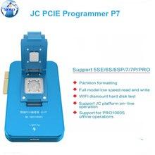 Jc pro1000s jc p7 pcie nand programador hdd série ler escrever erro ferramenta de reparo para iphone xs max 8x7 p 6 6 s mais todos os ipad