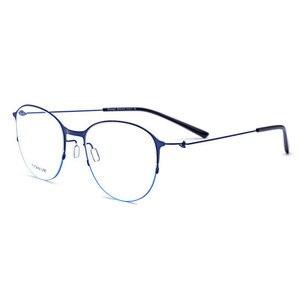 Image 4 - JQ28612 stopu tytanu pełna obręczy okulary ramki kwadratowe moda marka okulary na receptę okulary okulary dla kobiet