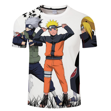 Naruto T Shirt Men/women Hokage Ninjia Short Sleeve Tee Shirt 3D Printed Tshirt Funny Anime Fashion Summer Tops 2018 New arrival