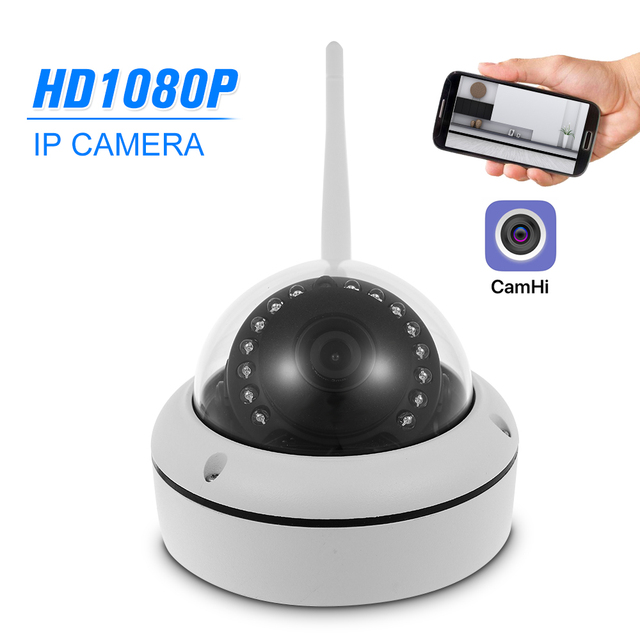 US $37 27 30% OFF|1080P HD WIFI IP Camera P2P Android IOS Remote View  Motion Detection Waterproof CCTV Camera Baby Monitor 1920*1080 Home  Security-in