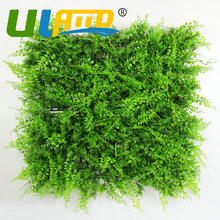 ULAND Outdoor Artificial Grass Fence Screening Green Walls 1x1m Plastic Shrubs UV Proof Balcony Privacy Fence Indoor Decorations