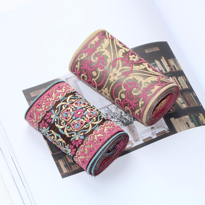 SMTA DIY Sewing Fabric Fashion Retro Natural  Ribbon Lace Trim Table Wedding Decor