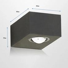 лучшая цена Hot item  aluminum  black  6w LED wall light, light direct upward and downward  warm white   wholesale