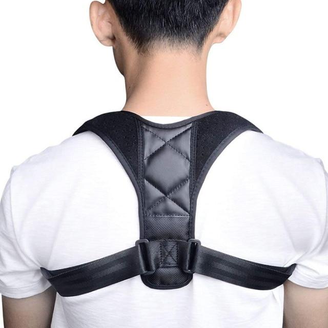 調整可能なバック姿勢コレクター鎖骨背骨バックショルダー腰椎ブレースサポートベルト姿勢補正防止前かがみ