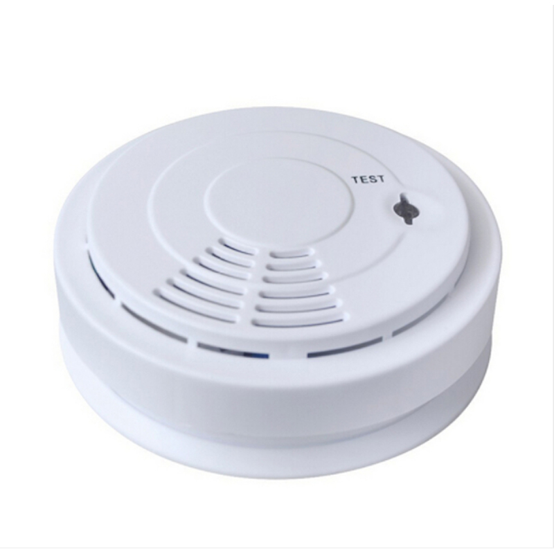 433 wireless smoke detector for home security alarm system golden security lpg detector wireless digital led display combustible gas detector for home alarm system