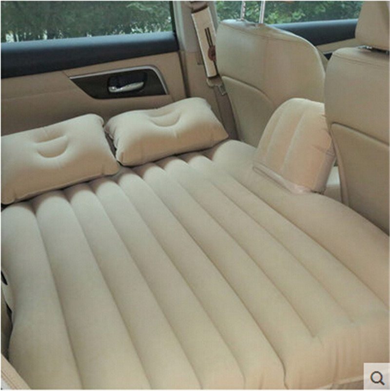 2016 Top Selling Car Back Seat Cover Car Air Mattress Travel Bed Inflatable Mattress Air Bed Good Quality Inflatable Car Bed drive travel deflatable air inflation bed mattress suv camping pvc material car seat cover cushion with car electric air pump