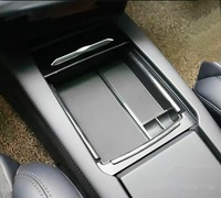 JY ABS Center Console Tray Storage Case Box Container Car Styling Accessories For TESLA MODEL X