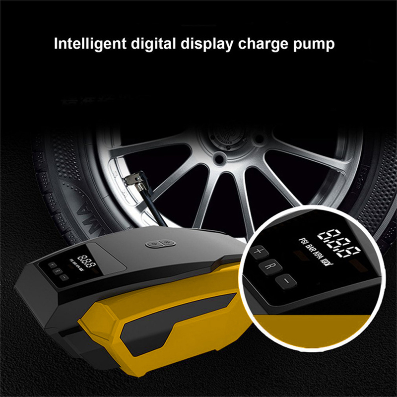 Automobiles & Motorcycles New 22 Cylinder 120w Auto Repair Car Tire Inflator 40l/min Dc12v Electric Car Air Compressor Pump Digital Inflatable Pump Car Repair Tools