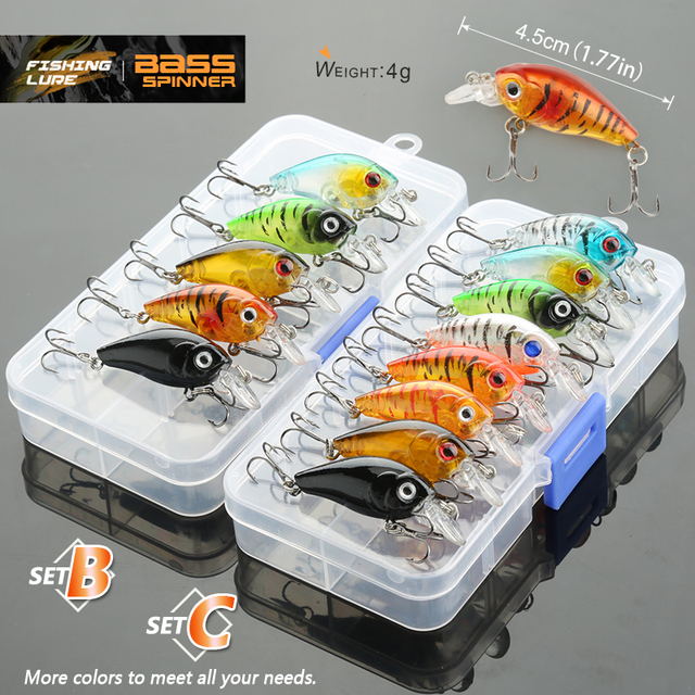 Donql 5/8/10pcs mixed colors fishi