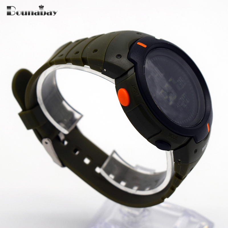 waterproof wrist automatic watches for men digitais watch running mens man clock saat buckle outdoor swimming