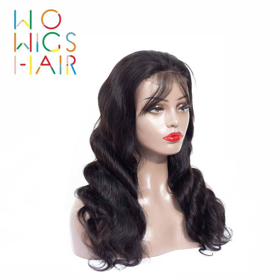 WoWigs Hair 360 Wigs Body Wave Remy Hair 100% Human Hair Wigs Free Shipping