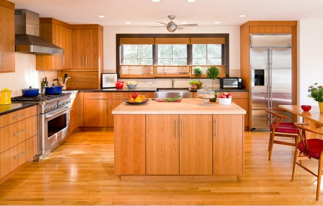 Us 6077 54 2017 Hot Sales New Design Classic Custom Made Solid Wood Kitchen Cabinets Matt Flat Panel Wooden Kitchen Cabinetery Skc1612023 In Kitchen