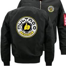 Nuevo BULTACO CEMOTO Dropshipping nueva chaqueta de bombardero vuelo  chaqueta invierno espesar caliente cremallera chaquetas Anime 41e3a8105b5ab
