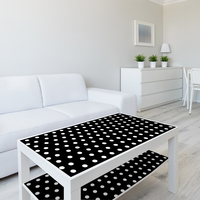 53x122cm Dot Design Wallpaper Wall Stickers Home Decor For Laptop Table Nursery Bedroom Living Room Decoration