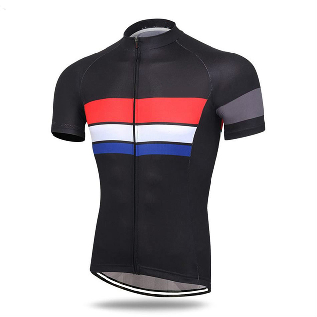 a943a299f CUSROO 2019 pro team Comfortable Bike Shirt Sportswear cycling clothing red  black customize Animation New Men s Cycling Jersey
