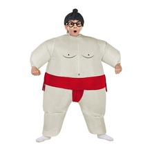 цены Inflatable Sumo Costume Children Kids Boy Girl Wrestler Halloween Air Blown Outfits Party Carnival Cosplay Suits Christmas Dress