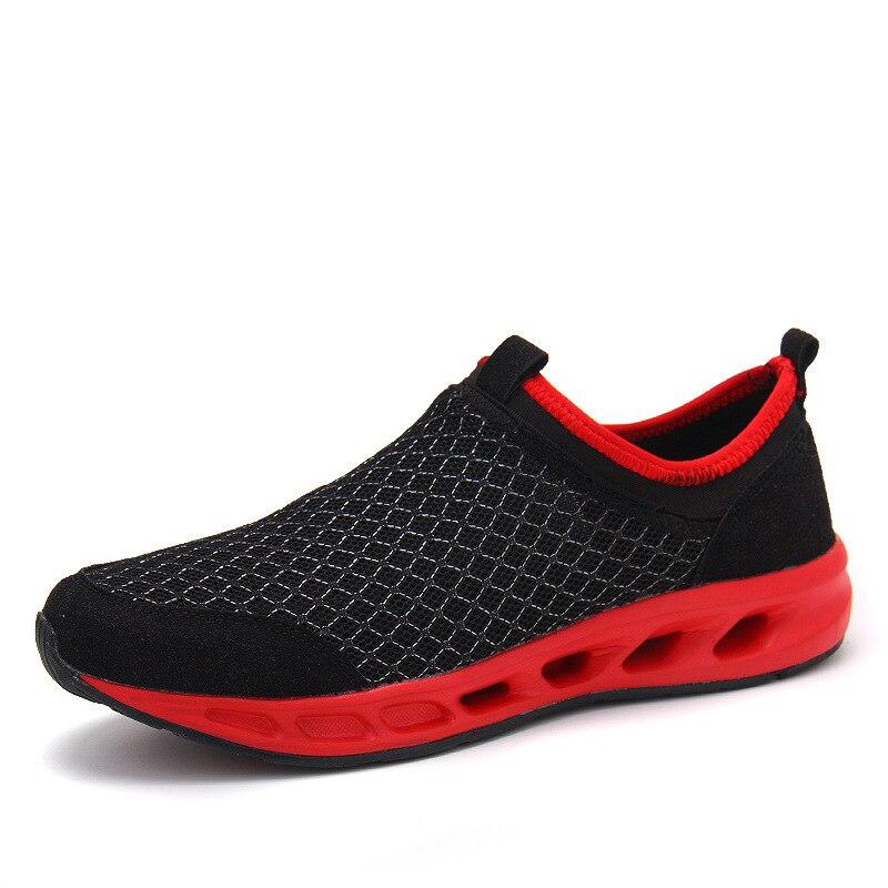 c7edc9a5c الربيع عشاق احذية الجري نمط ل الركض أحذية رياضية قطع مريحة ضوء الوزن رياضية  للرجال الهواء شبكة التنفس