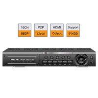 H 264 16CH HD 960P Realtime NVR 1 5U ONVIF P2P HDMI 2CH Playback