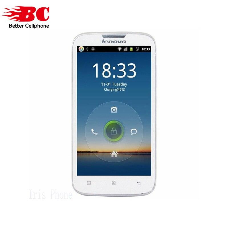 Новый оригинальный lenovo A560 Snapdragon MSM8212 quad core Android 4,3 5,0 дюймов 512 МБ Оперативная память 4 ГБ Встроенная память GSM 3G WCDMA смартфон Dual SIM