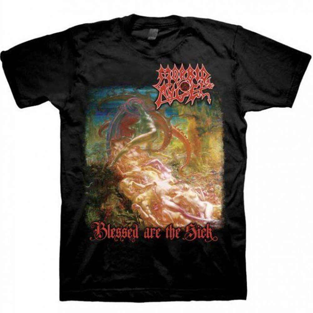 2018 Hot Sale New T Shirt New Morbid Angel Blessed Are The Sick Album Cover Shirt S-3XL Tops Novelty Short Sleeve Tees