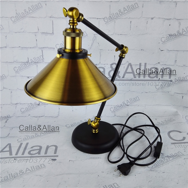 Edison bulb 60w assembled bronze iron table lighting 18m wire with edison bulb 60w assembled bronze iron table lighting 18m wire with switch and plug beside lamp for study room hotel decor in wall lamps from lights keyboard keysfo Gallery