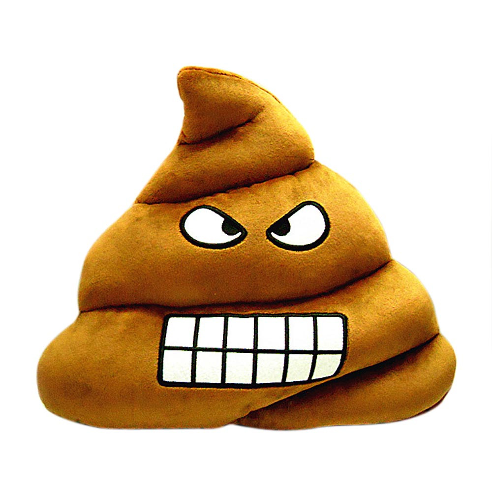 cute emoji emoticon cushion poo shape pillow doll toy throw pillow high quality hot selling new - Popular Throw Pillows