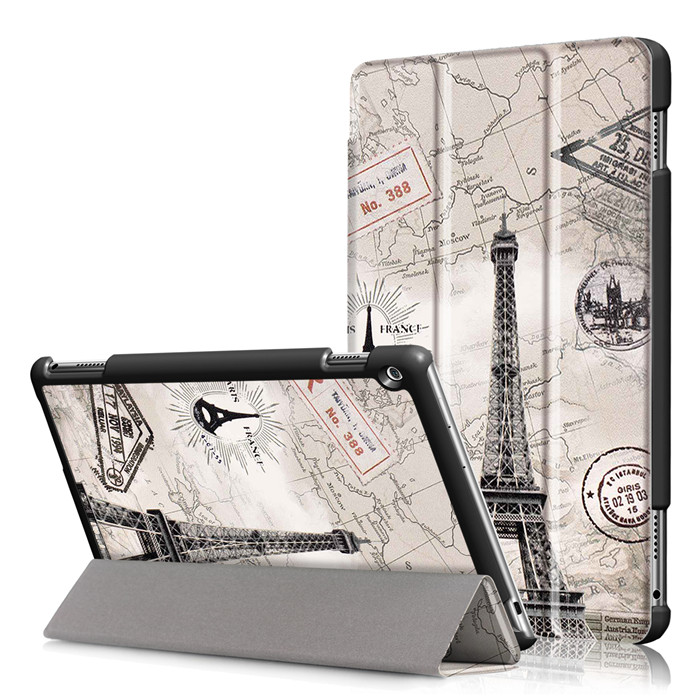 PU Leather Stand Cover Case for Huawei MediaPad M3 Lite 10 10.1 inch BAH-W09 BAH-AL00 Tablet + 2Pcs Screen Protector Gift smart ultra stand cover case for 2017 huawei mediapad m3 lite 10 tablet for bah w09 bah al00 10 tablet free gift