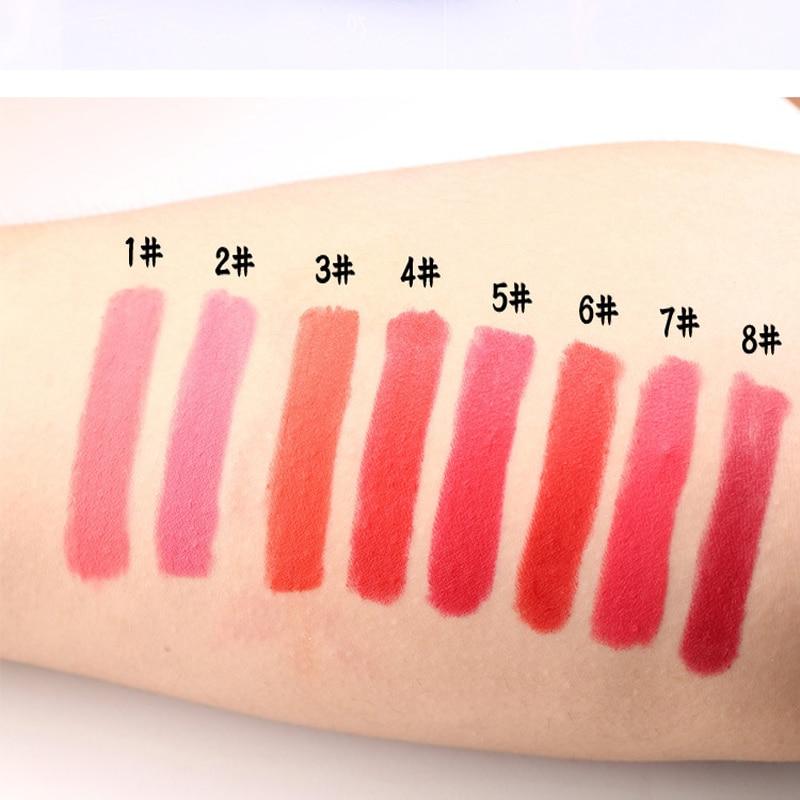 2017 Yeni Gəliş Dodaq boyası kosmetikası Suya davamlı 24 saat - Makiyaj - Fotoqrafiya 3
