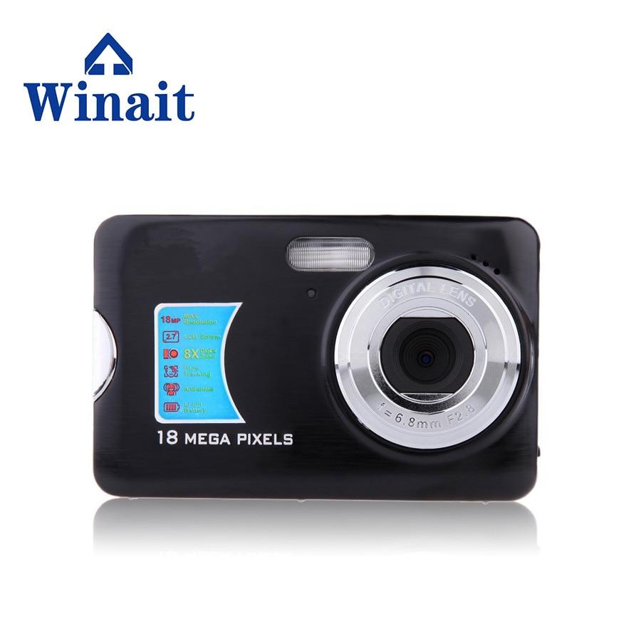 Winait Portable Used Digital Camera 2.7 TFT LCD Display SD Card Memory Max To 32GB