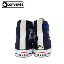 USA Puerto Rico Flag Converse All Star Custom Design Hand Painted Shoes Man Woman High Top Men Women Sneakers Unique Gifts
