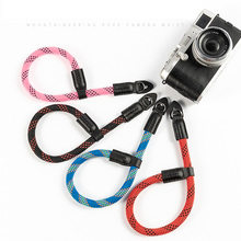 High Quality Super Tough Nylon rope Wrist Strap Durable Band fit for Digital Camera Leica Canon Fuji Nikon Olympus Pentax Sony цена