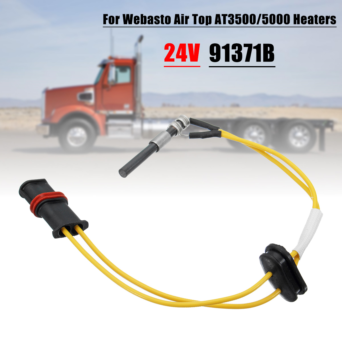 91371B 24V Heater Glow Plug For Webasto AT3500 /5000 Air Parking Truck Boat Glow Plugs