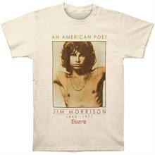 DOORS T-Shirt Jim Morrison American Poet Lizard King New Authentic S-3XL(China)