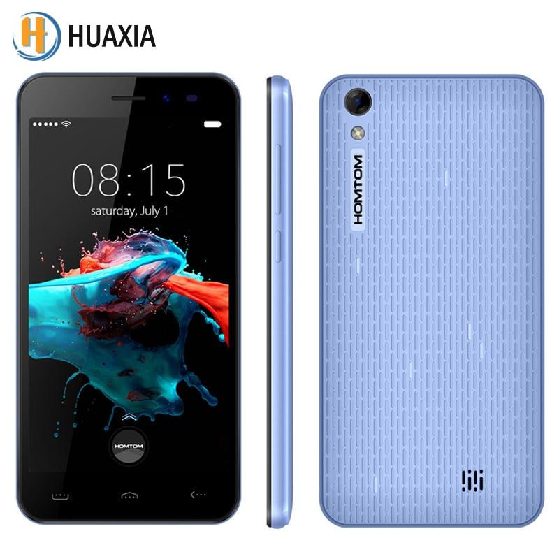 Homtom ht16 quad core 5.0 pulgadas 1 gb ram 8 gb rom MT6580 Android 6.0 Smartpho
