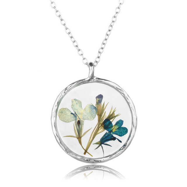 2017 real natural dried flowers round glass pendant necklaces 2017 real natural dried flowers round glass pendant necklaces women rope necklaces diy handmade pressed flowers mozeypictures Images