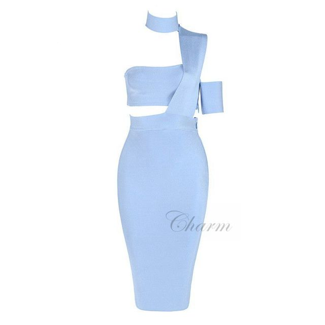 New Sexy Summer Dress Women Bodycon Bandage Dress Clubwear Vestidos Night Out Evening Party Dresses Wholesale