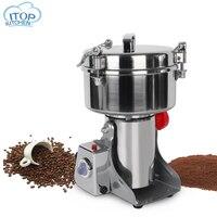 Pulverizer in Mills 2300W Electric Food Grain Grinder Chopper Soybean Corn Herb Coffee Bean Automatic Milling Pulverizer Machine