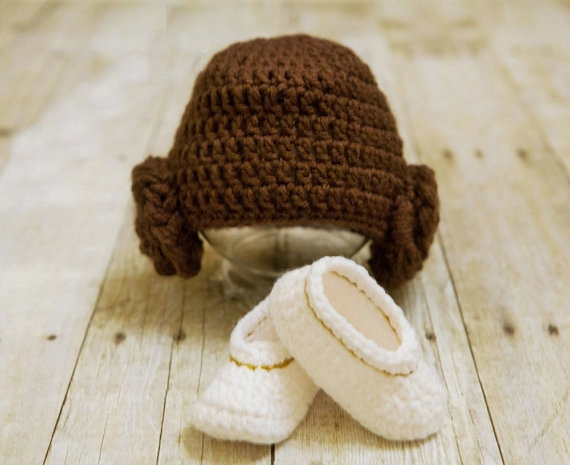 0-3M Baby Princess Leia hat and Shoes set Star Wars Hats for Infant  Photography Prop Fotografia Baby Clothing Baby Fotos 2d42dccbb97