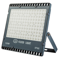 LED Outdoor Waterproof Floodlight Ip65 Ultra thin Advertising Projection Light 50W 100W 150W 200W Lamp Epistar Smd Led Chip