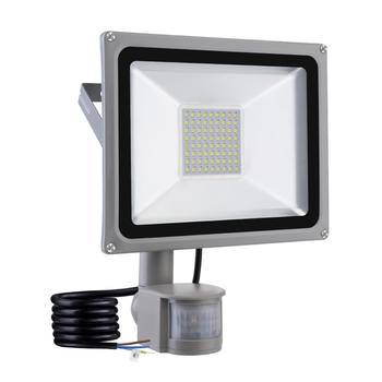 50W LED Floodlight SMD Outdoor Lamp Mit Bewegungsmelder Cool White Motion Sensor Flood Light European shipment