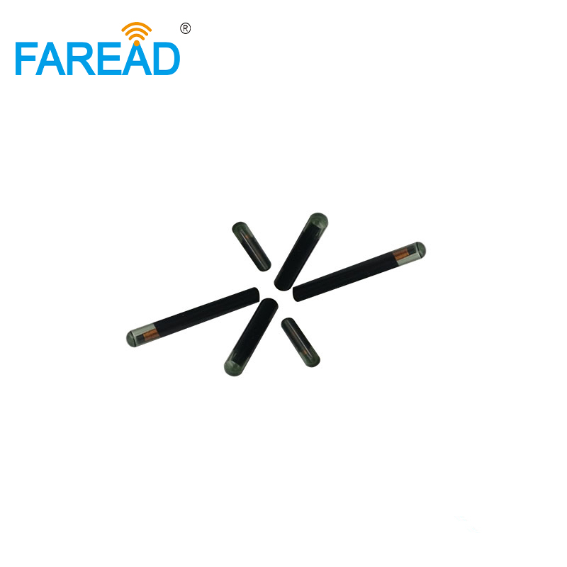 LF 4*22mm Hitag S256 RFID Transponder ICAR Certification Glass Tube