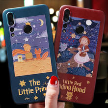 The little prince&little red riding hood Emboss case For Huawei nova 5 Pro,5i ,Nova 4,nova 4e(P30 Lite),nova 3,Nova 3e(P20 Lite)