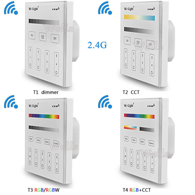 Mi light 24g t1t2t3t4 4 zone smart touch panel led dimmer mi light 24g t1t2t3t4 4 zone smart touch aloadofball Gallery