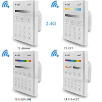 Mi Light 2 4G T1 T2 T3 T4 4 Zone Smart Touch Panel Led Dimmer Controller