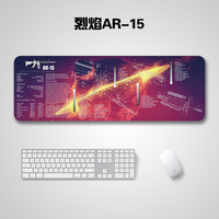 """47 Extended Speed Gaming Mouse Pad AK-47 Mouse Pad Gun Disassembling Rubber Mouse Mat Water Resistant Large Size 36""""x12""""x0.08""""inch (3)"""