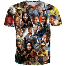 YX Girl 2019 Summer Unisex Tops Tees KEVIN HART T-SHIRT For Men Women Short Sleeve O-neck T shirt Streetwear Dropship