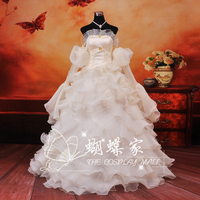 White Medieval Dress Princess Medieval Renaissance Gown Maid Costume Victorian Marie Belle Ball Code Gaess Cosplay Dress