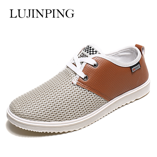 570b3f8b26 2017 Hot Sale Men Summer Shoes Breathable Male Casual Shoes Fashion  Chaussure Homme Soft Zapatos Hombre Summer Men Cool Shoes